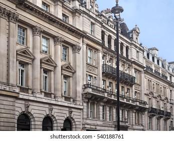 Baroque style apartment buildings, London