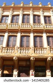 baroque style balcony. la laguna. tenerife