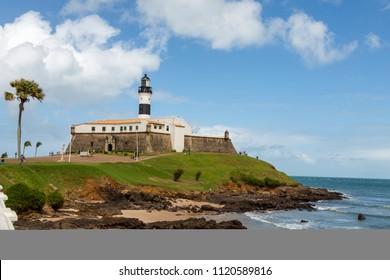 Barra Lighthouse in Salvador da Bahia, Brazil
