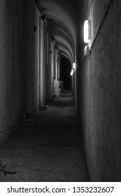 Barrack secret tunnels