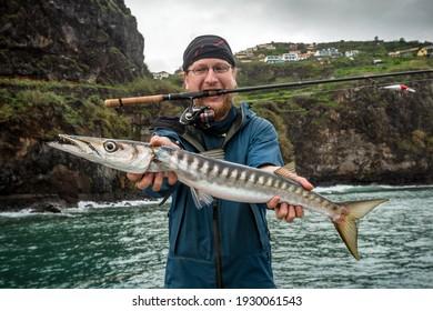 The barracuda catch, Madeira island, Portugal