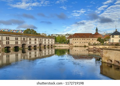 The Barrage Vauban, or Vauban Dam, is a bridge, weir and defensive work erected in the 17th century on the River Ill in the city of Strasbourg in France