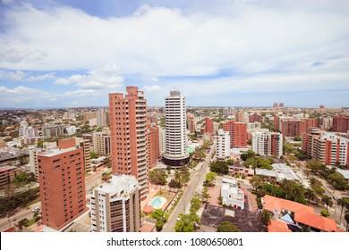 Barranquilla Colombia, skyscrape view