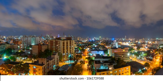 barranquilla night cities of colombia