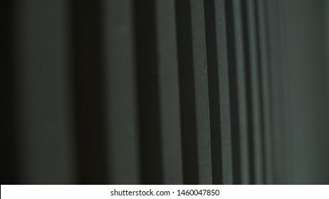 barras en color negro con profundidad, la imagen esta sin edicion tal como se tomo con la camara. ideal para fondos