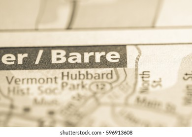 Barre. Vermont. USA