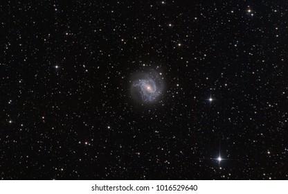 The barred spiral galaxy m83