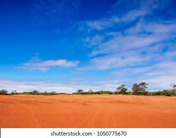 Barreiro da Faneca, Red Desert, Santa Maria Island, Azores, Portugal