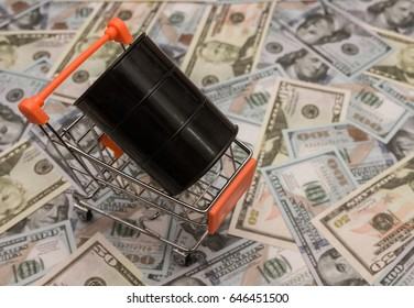 Barrels of oil on dollars. Profit growth. business. Country care. Raw material. industry. sales growth.