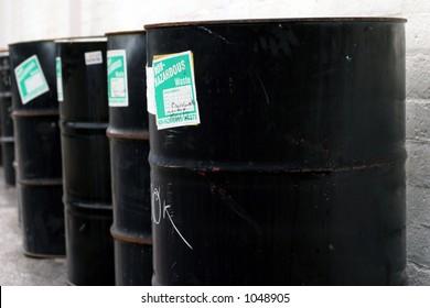 Barrels in a row