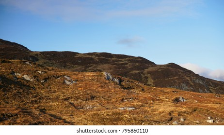A barren Irish landscape