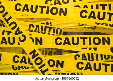Barricade tape is brightly colored tape which is yellow-black color to warn or catch the attention of passersby of an area or situation containing a possible hazard