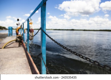 Barrier of a dock