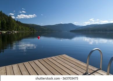 Barrier lake Canada