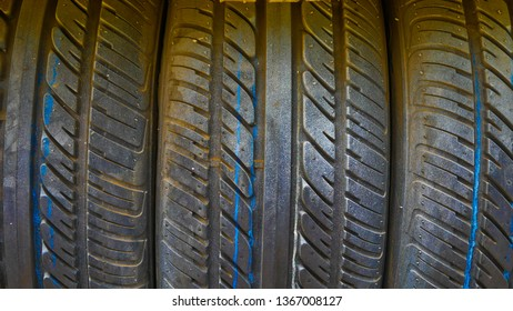 Barrier tire for protect racing car.