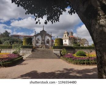Barrocas garden view, Barcelos, Portugal.