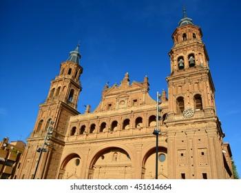 Barroque church in La Rioja, Spain