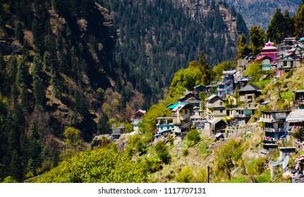 Barshaini Village Parvati velly kasol Himachal Pradesh India