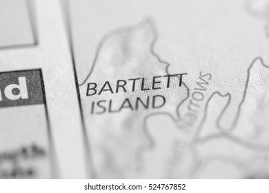 Bartlett Island. Maine. USA