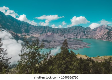 Barujari Mountain, Rinjani Mountain, Indonesia
