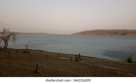 Barvi Dam Lake In Badlapur, Maharashtra, India. - Shutterstock ID 1461316205