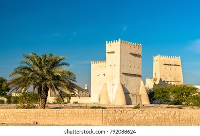 Barzan Towers, watchtowers in Umm Salal Mohammed near Doha - Qatar, the Middle East