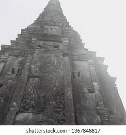 Bas relief  Chaiwatthanaram Temple, Ayutthaya , Thailand   Taken from a Rolleiflex  film camera  (120 Film scan photo )