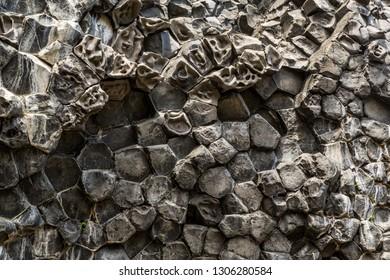 Basalt Column Rock Formation