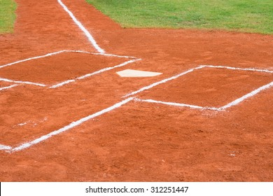 base of a baseball field