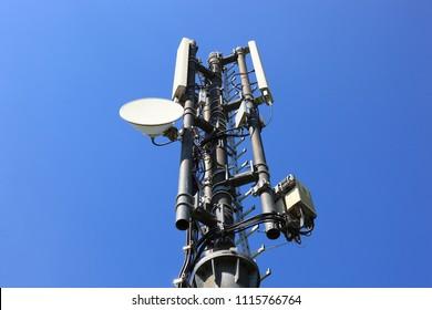 Base station, directional antenna or beam antenna