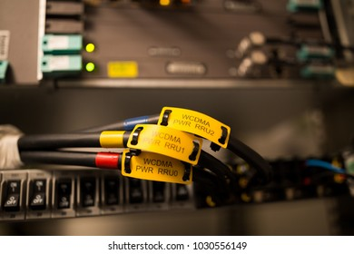 Base station network equipment labels