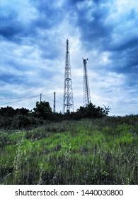 base station tower baz istasyonu kulesi