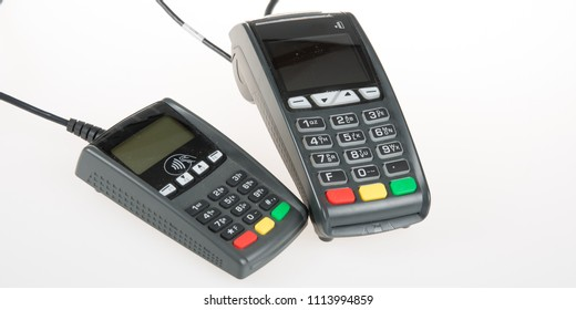 base and terminal keyboard of a collector and bank credit card reader