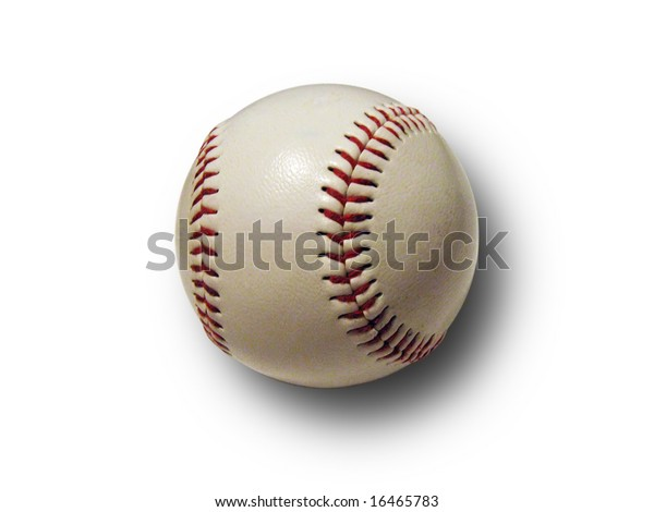 Baseball ball with shaddow