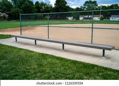 Baseball Bench Bleachers