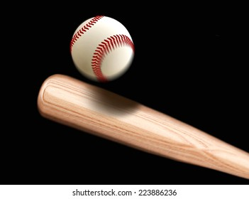 Baseball Bet Hitting Ball