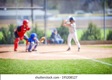 Baseball blur background