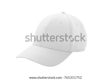 9984f5ad738 Baseball Cap White Templates Front Views Stock Photo (Edit Now ...
