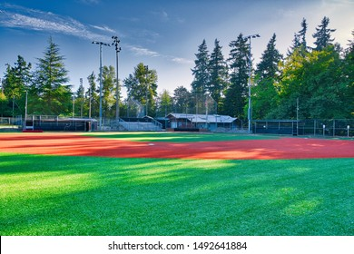 Baseball Diamond in late Summer
