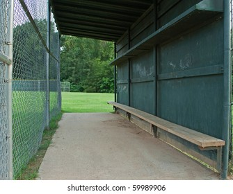 Baseball Dugout Images Stock Photos Vectors Shutterstock