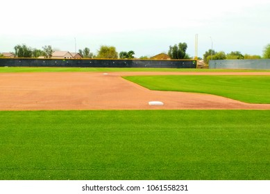 Baseball Field from 3rd Base Side