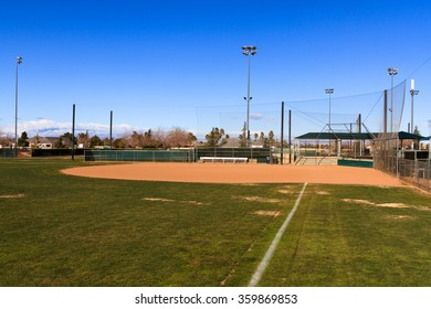 Softball field stock images royalty free images vectors baseball field in california mountains softball field ccuart Images