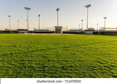Baseball field from center field.