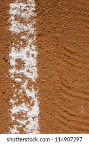 Baseball Field Chalk Line Vertical