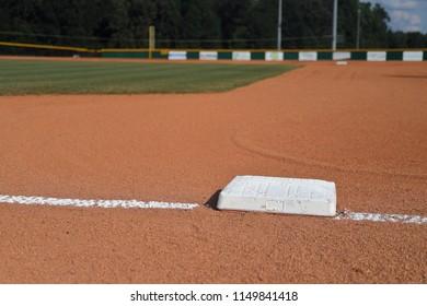 Baseball Field infield first base