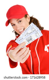 Baseball: Girl Has Tickets To Game