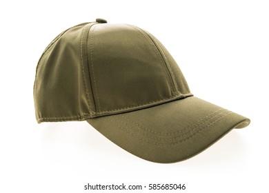 Baseball hat for clothing isolated on white background
