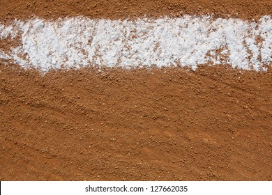 Baseball Infield Chalk Line with room for copy and for Sports Background