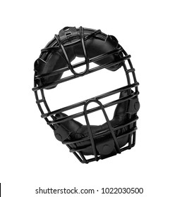 Baseball mask isolated on white