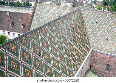 Basel Cathedral Multicolored Roof
